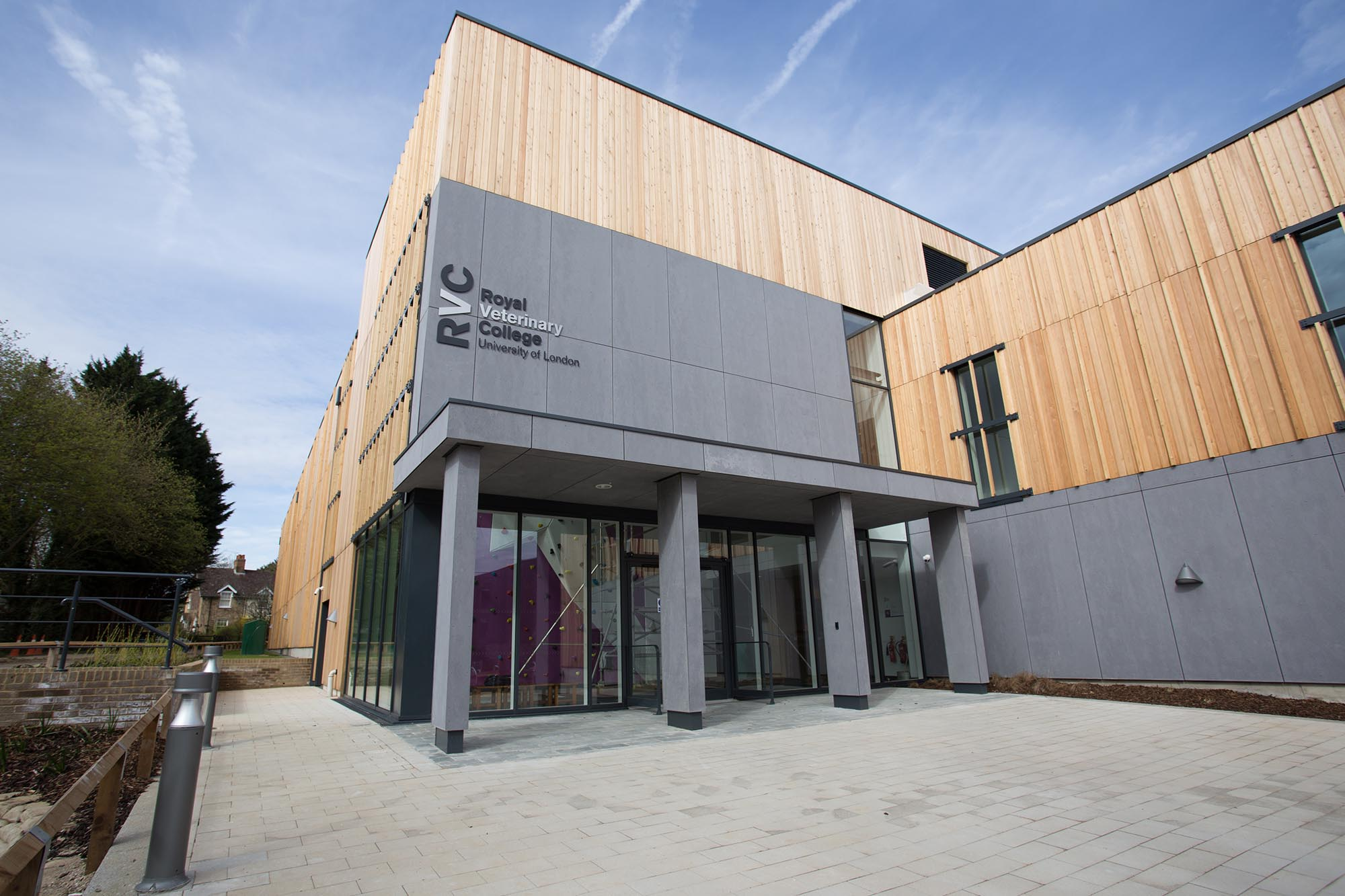 Royal Veterinary College Sports Facility Ashe